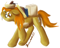 Random Gifting is Magic- Pumpkin Spice by thetriforcebearer