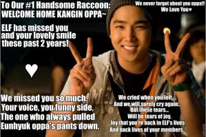 super junior macro57-Welcome Back Kangin by TwisterWithEunHae