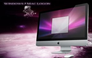 mac style logon for windows 7 by wallybescotty