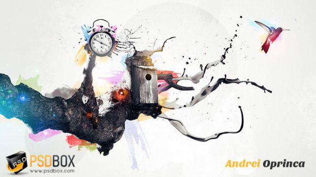 Time Bandit - Abstract Tutorial by Andrei-Oprinca