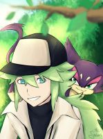N - Pokemon Black n White by MelSpontaneus