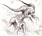 Demon or Lovecraft: I cant tel by ArcherMonster