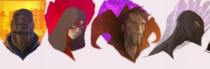 Some U know.....The Avengers by CoranKizerStone