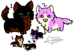 Wolf family adopt [Open] by wolf5winer