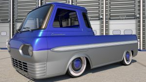 Ford E100 Econoline Custom by SamCurry