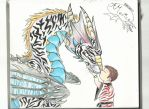 White Tiger Dragon. FINISHED! by AmericanBlackSerpent