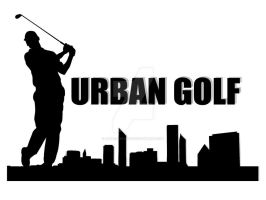 Urban Golf Logo Rev 1 by gamesandgigs