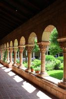 In the Cloisters I by patrick-brian