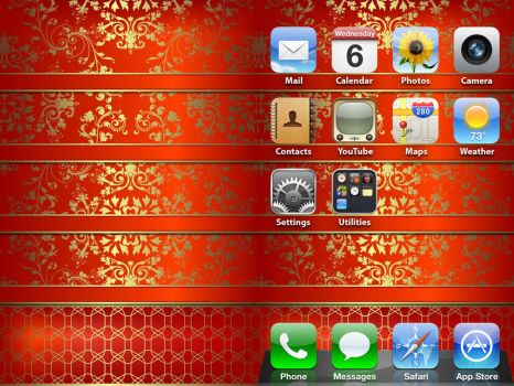 iPhone Decorative Wallpaper by ChrisssG