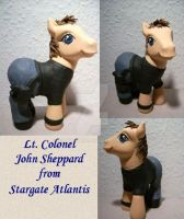 My little Pony Custom Sheppard by BerryMouse