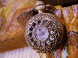 Grandfather clock by bettina-coman