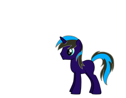 Thunder Blade - Pony creator by FrostQuill