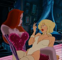 Jessica Rabbit/Holli Would by Artwra