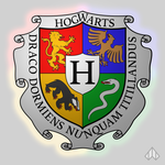 Coat of Arms of Hogwarts by Nelde