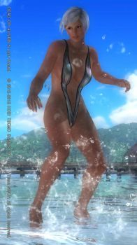 DEAD OR ALIVE 5 Last Round  Lisa18 by aponyan