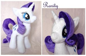 Rareware --wait, no. Rarity plush. by scilk
