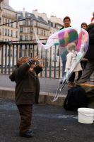 Baby and Bubble in Paris.2 by ValentinaF