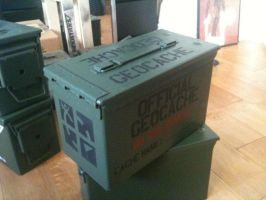Geocaching Ammo Can by trebory6