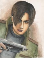 Leon kennedy by Palmares