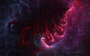 Fractal Wallpaper Stock Rupture (incl. Stock PNG) by Hexe78