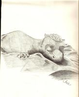 Dragon baby from eragon by Cowgrl09