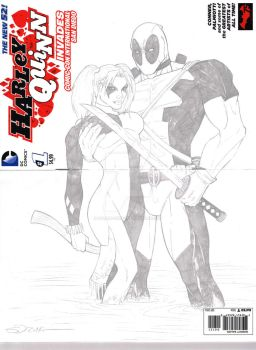 Harley and Deadpool Part 1 by sorah-suhng