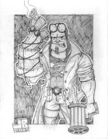 Hellboy II by thatjuniorbruce