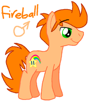 Fireball by HeartinaRosebud