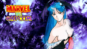 MvC1 Morrigan PSP Wallpaper by WhiteAngel50000
