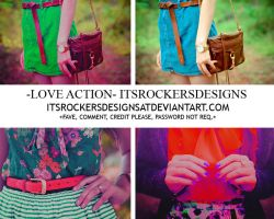 LOVE ACTION by itsrockersdesigns