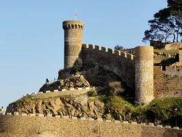 Castle - Tossa de Mar  (89) by RowyeStock