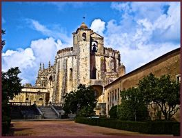 Convent of Christ in Tomar, Portugal by Tigles1Artistry