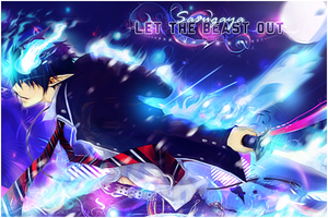 Banner Ao no exorcist by Hitsu26