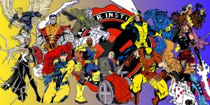 X-MEN Blue and Gold by HooliganAlley