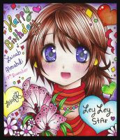 :+: Happy Birthday ZeyZeyStAr 2011 :+: by zenab-tareef