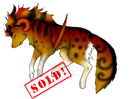 Tiger/wolf creature adopt (Closed) by CrystalCircle