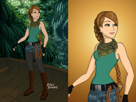 Jurassic World Oc Skyler Grady by sky-the-ripper