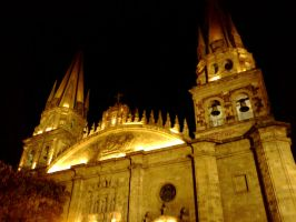Guadalajara at Night 2 by Foxdale