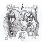 Suikoden 2 Clive and Elza by Hipblast