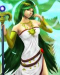 Palutena - Kid Icarus by Appupple