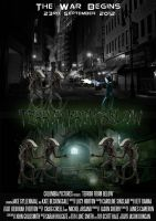 Terror From Below Poster 1 by LucyLostInWonderland
