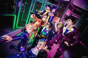 JoJo's Bizarre Adventure: All Star Battle by fritzfusion