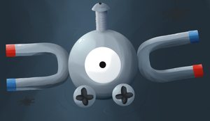 Magnemite by HyperInLove