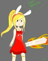 Fionna the Smexy Fighter by Ennai-awesome
