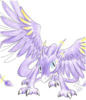 Chikadee34: Spread Your Wings by Winged-Dragoness