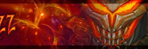 xizz twitch banner by Myssham
