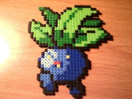 Oddish Perler by CooltrainerBrooke