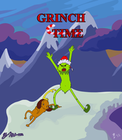 What time is it.. GRINCH TIME by YooMe