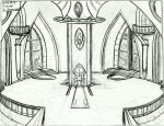 The Royal Palace's Throne Room by Sorteagan