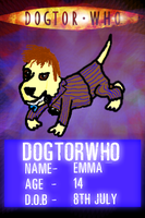 My ID card by Dogtorwho